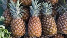 Drei Ananas liegen nebeneinander – wegen dieser Frucht stehen in den USA drei Mädchen vor Gericht
