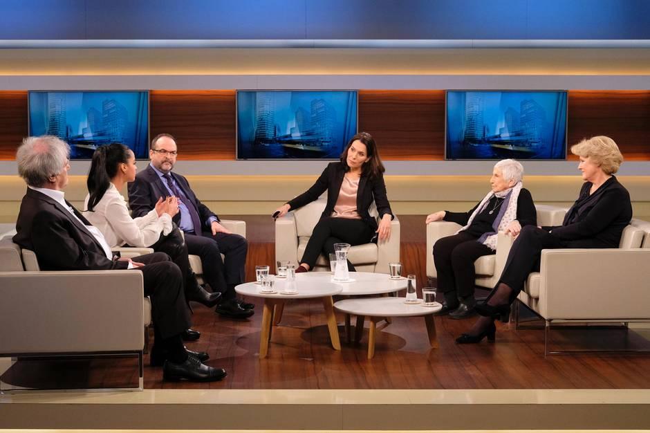 Anne Will und ihre Talkgäste