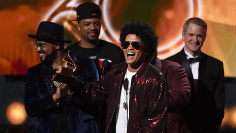 Bruno Mars bei den Grammys