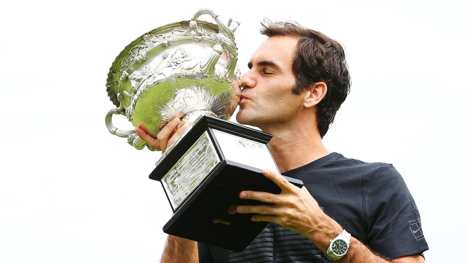 Roger Federer Der Größte Sportler Aller Zeiten Sternde