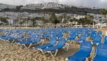 Liegen auf Gran Canaria