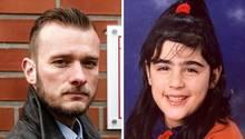 """Steven Baack, Leiter der Ermittlungsgruppe """"Cold Cases"""" der Hamburger Polizei, und die vermisste Hilal Ercan"""
