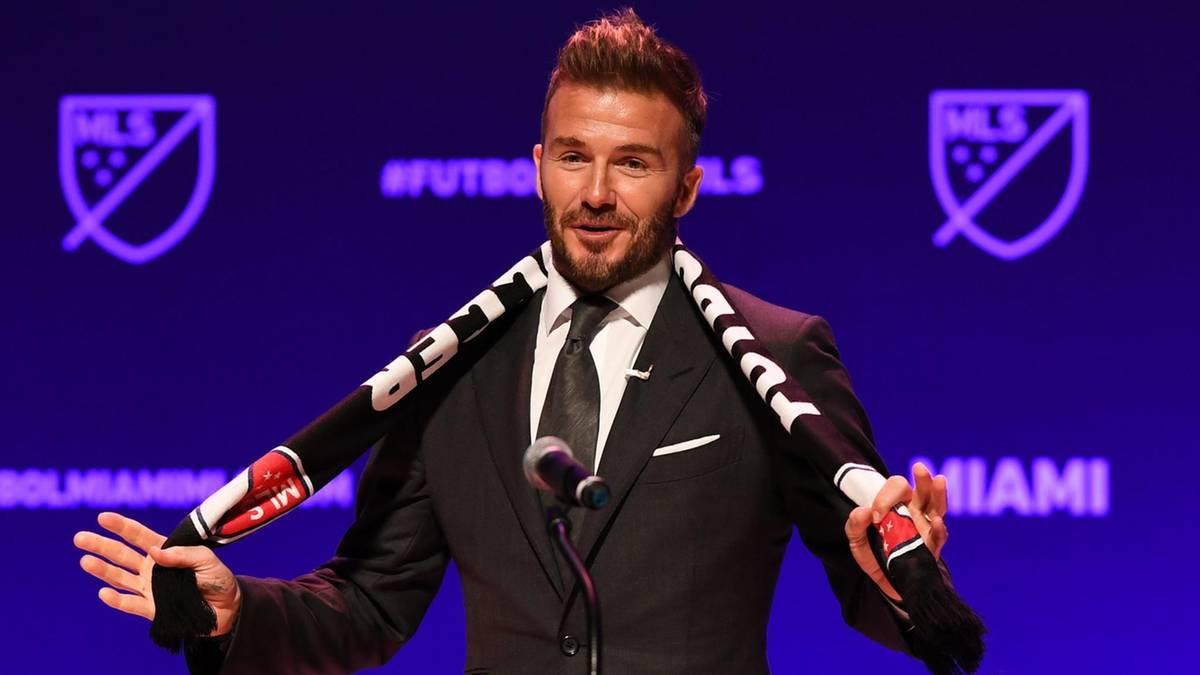 David Beckham Verein