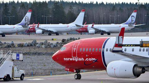 Boeing 737 von Norwegian