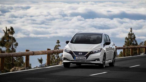 Die Front des neuen Nissan Leaf ist nun markentypisch gezeichnet