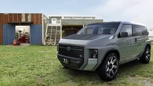 """Im Konzept-Fahrzeug ist der Wagen auf """"Heavy Duty"""" ausgelegt."""