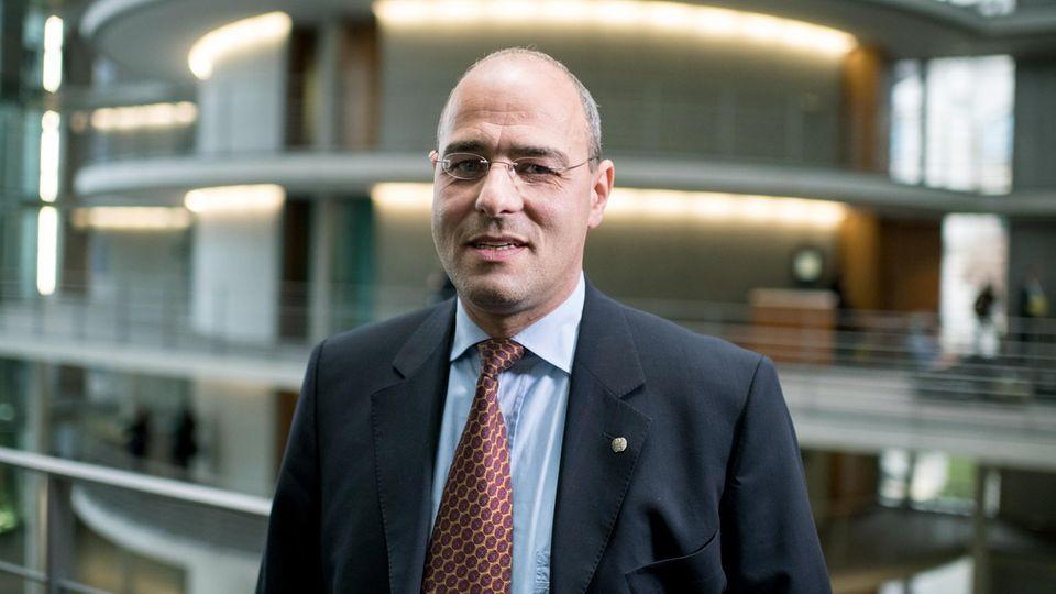 AfD-Abgeordneter Peter Boehringer, Vorsitzender des Haushaltsausschusses