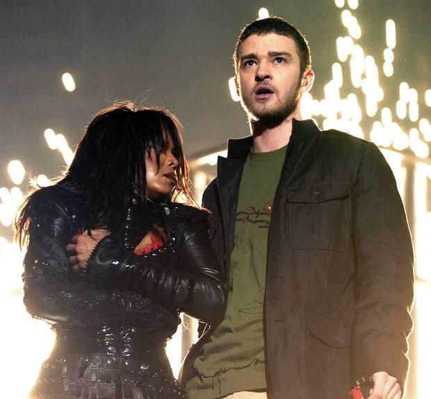 Janet Jackson und Justin Timberlake