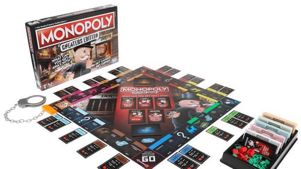 Eine neue Monopoly-Edition extra für Schummler
