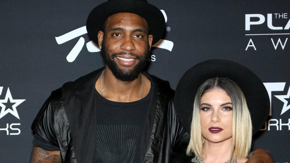 Rasual Butler und seine Frau Leah LaBelle