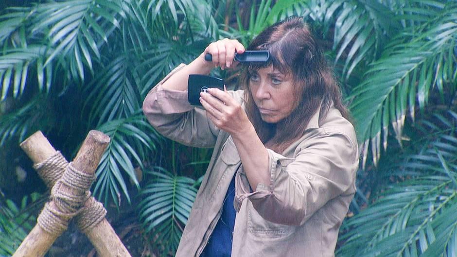Tina York im Dschungelcamp