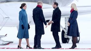 William und Kate in Oslo