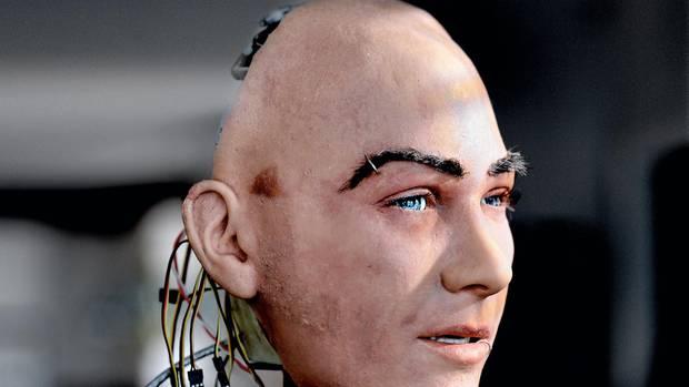 Mimik und Ausdrucksweise humanoider Roboter werden von der Firma Hanson Robotics perfektioniert