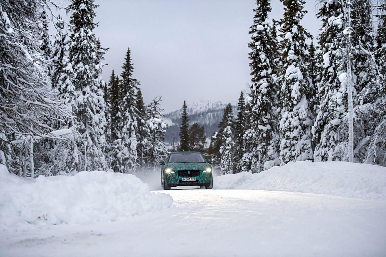 Jaguar i-Pace 2018 - unterwegs in Lappland