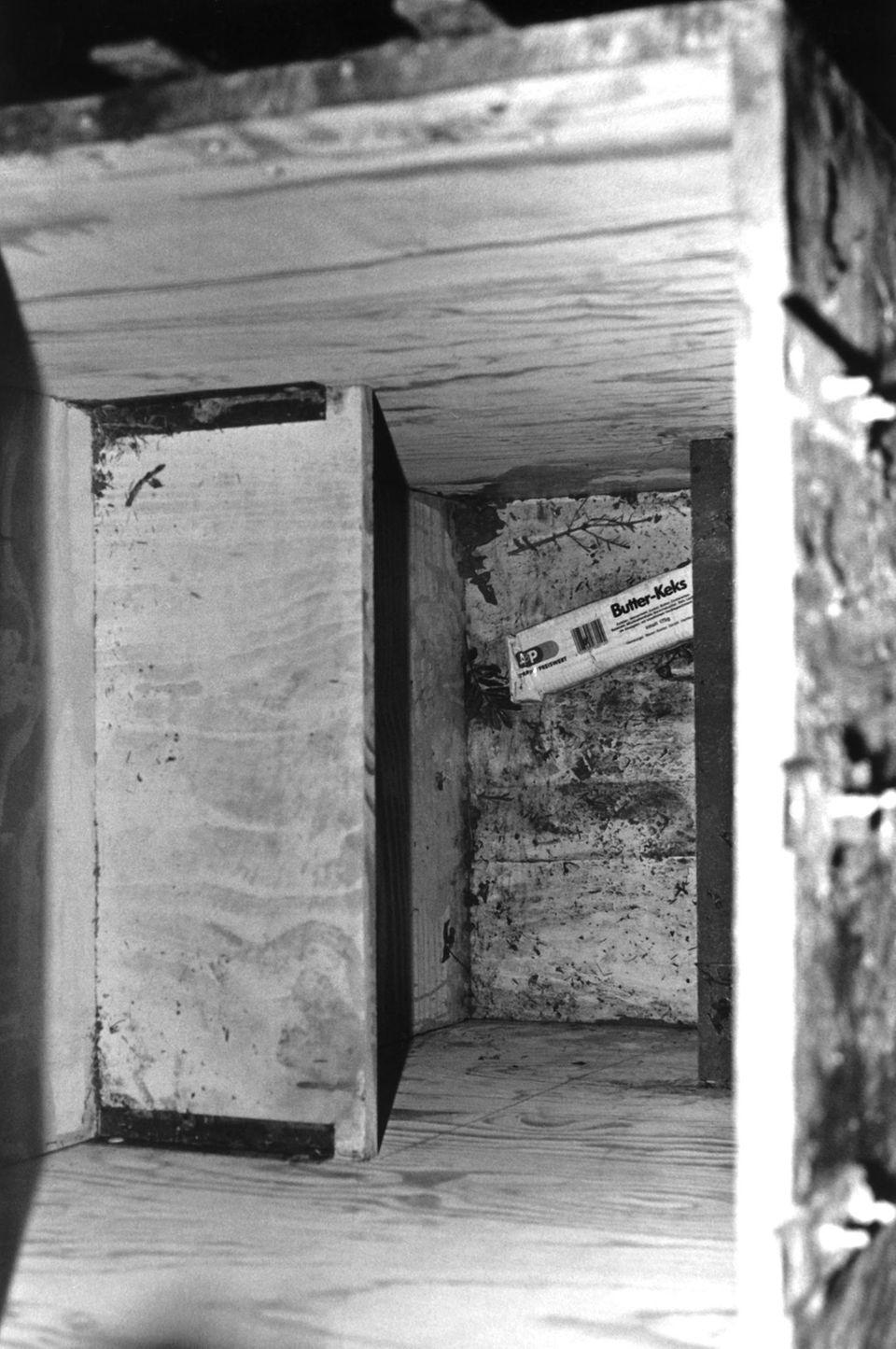In dieser Kiste stirbt die zehnjährige Ursula Herrmann 1981