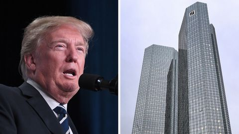 Donald Trumps Steuerreform kostet die Deutsche Bank 1,4 Milliarden Euro