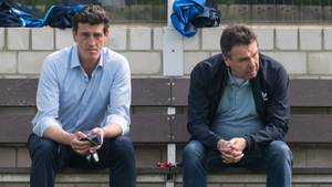 Jens Todt und Heribert Bruchhagen