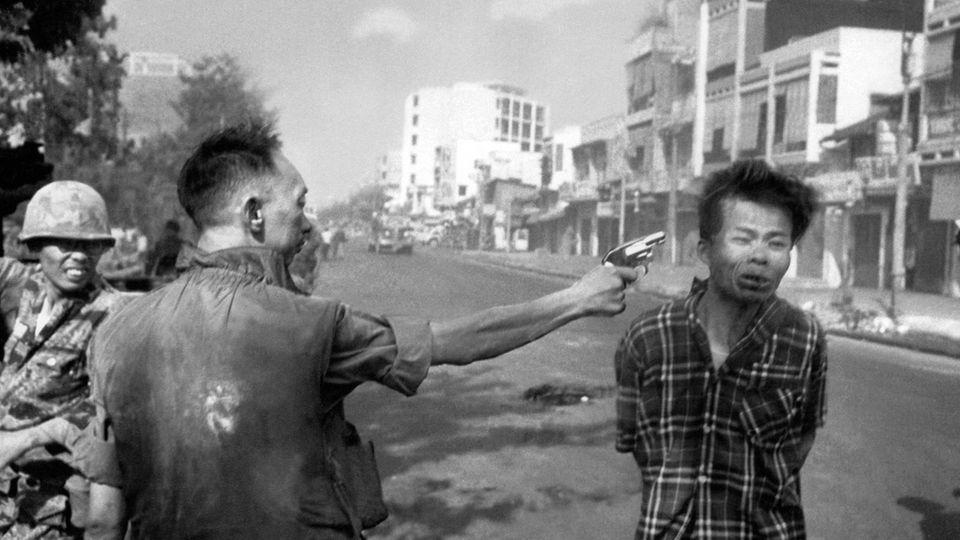 Ikonisches Vietnamkrieg-Foto