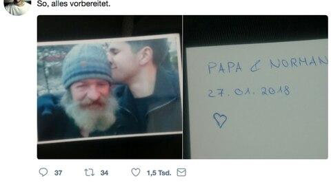 Norman und sein obdachloser Vater