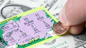 Donald Savastano hatte ein Rubellos für 10 Dollar gekauft und eine Million gewonnen