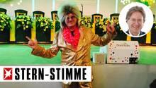 Frank Behrendt im jecken Kostüm
