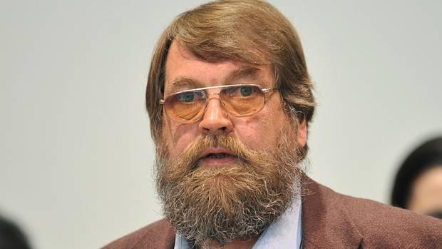 Werner Mazurek bei der Urteilsverkündung im März 2010 im Landgericht Augsburg