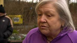 Gisela Bietz (67) lebtseit einem Jahr und drei Monaten in einer Sozialwohnung in der Egerländerstraße. Auch sie hat keine Dusche.