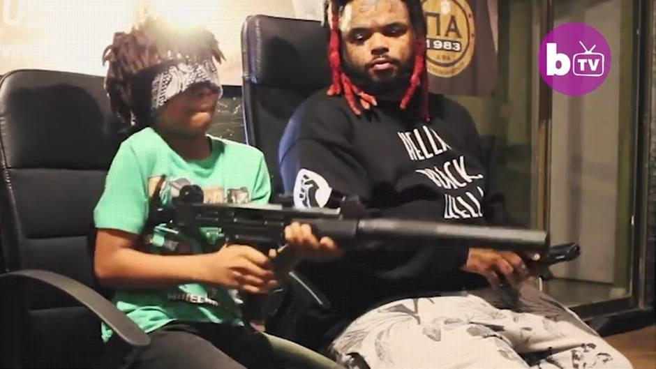 """US-Vater lehrt Kinder Umgang mit Waffen: """"Ich würde wollen, dass meine Kinder töten"""""""