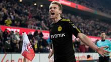 Fußball-Bundesliga: Dortmund siegt gegen Köln