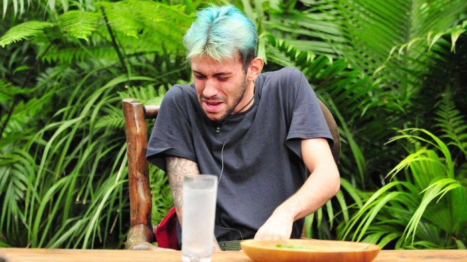 Dschungelcamp: Das Finale in Bildern – Daniele bei der Prüfung