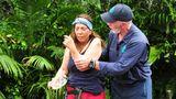 Dschungelcamp: Das Finale in Bildern – Tina bei der Prüfung