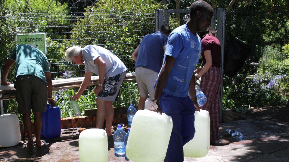 In Kapstadt wird das Wasser knapp