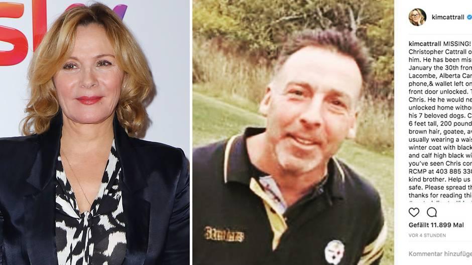 Vermisster Bruder von Kim Cattrall ist tot