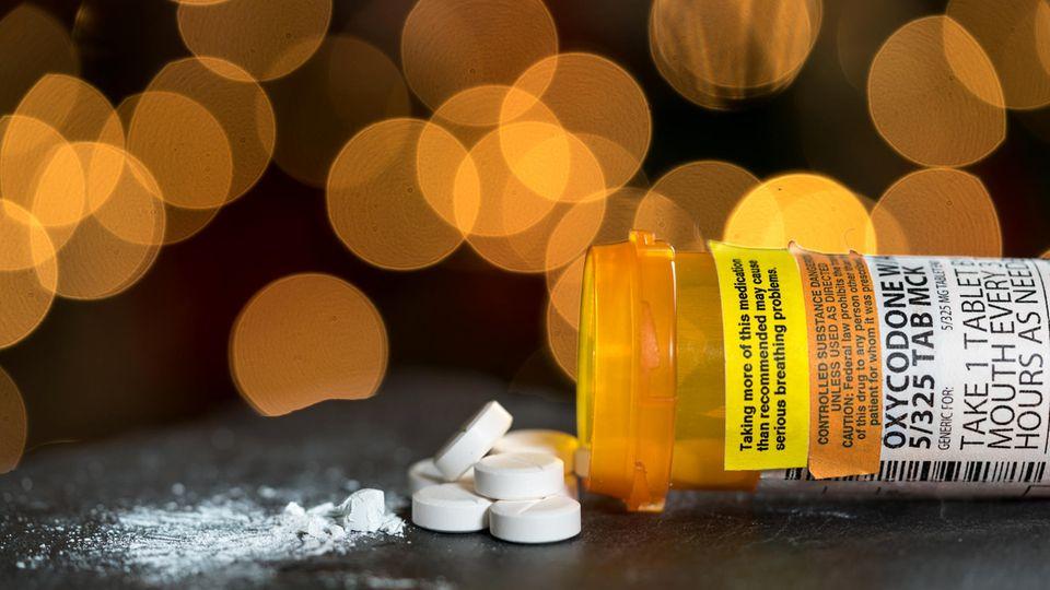Oxycodon Heroin Opiat Krise