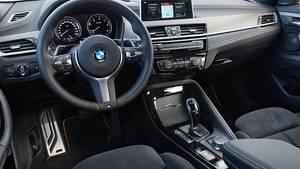 Typisches BMW-Cockpit