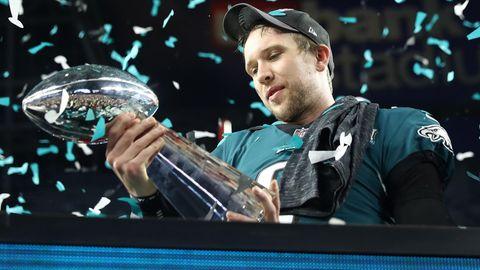 Nick Foles ist Super-Bowl-Champ: Bis zum Finale eher einen mittelmäßigen Ruf