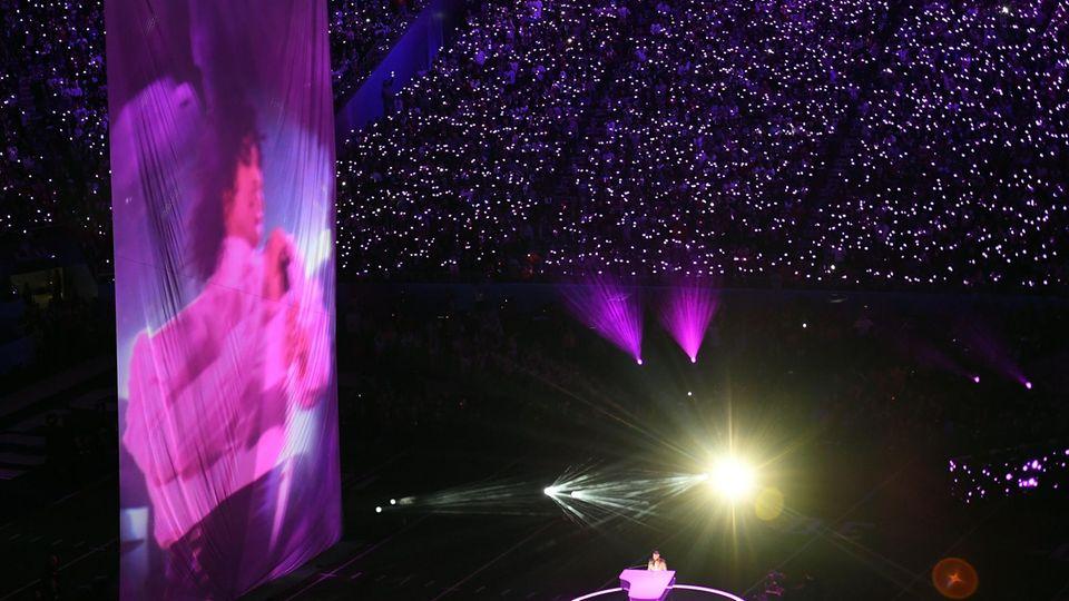 Justin Timberlake beim Super Bowl