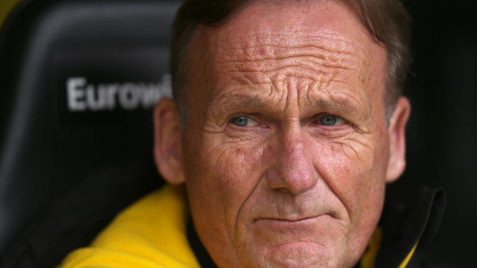 Borussia Dortmund - Hans-Joachim Watzke - Streik - Tribüne