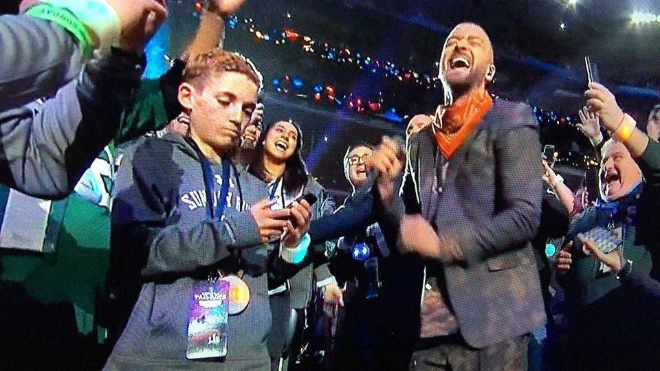 Ryan McKenna und Justin Timberlake