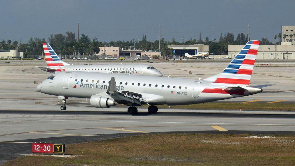American Airlines gehört auch mit der Flotte von American Eagle zu den großen Fluggesellschaften in den Vereinigten Staaten.
