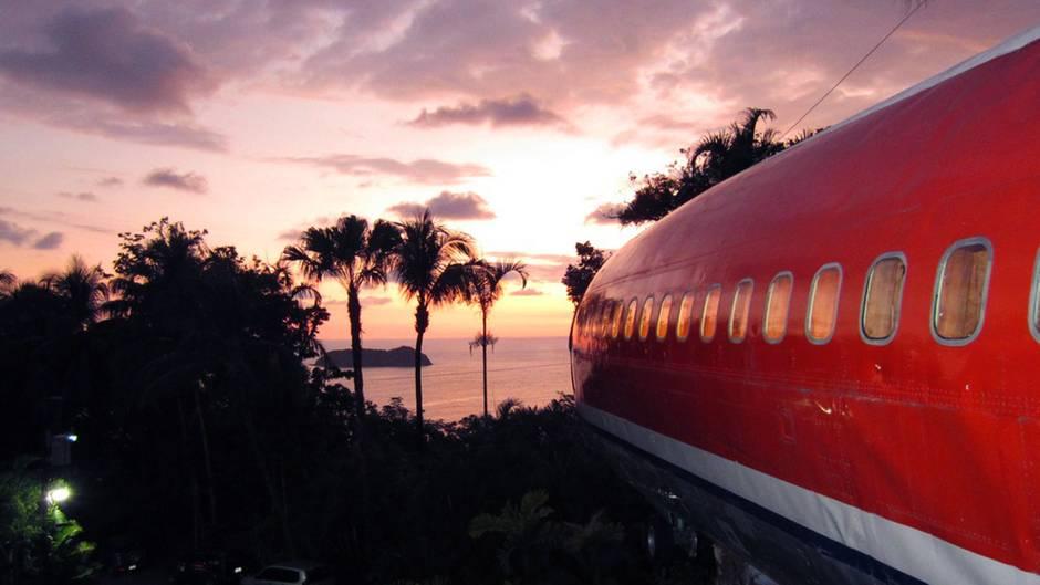 Flugzeughotel in Costa Rica: Hier ist keine Boeing abgestürzt - hier kann man stilecht übernachten