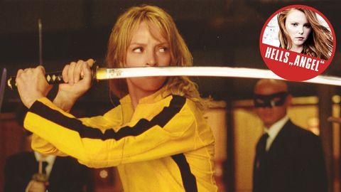 """Uma Thurman im Film """"Kill Bill"""""""