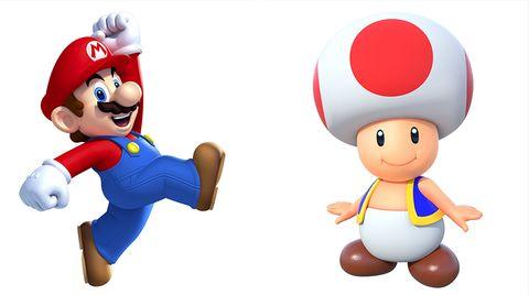 Nintendo: Super Mario und Toad