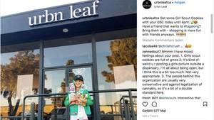 Marihuana: Diese junge Pfadfinderin verkaufte Kekse an Kiffer