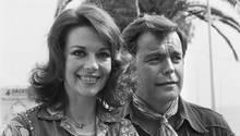 Nathalie Wood und ihr Ehemann Robert Wagner im Jahr 1976