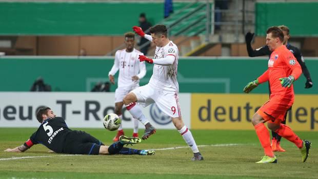 DFB Pokal SC Paderborn Bayern München