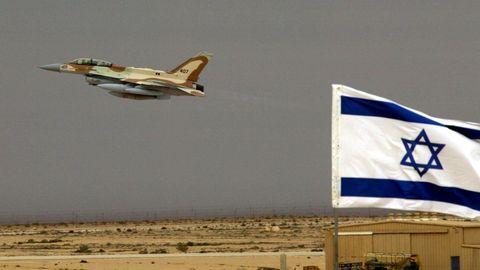 Israelischer Jet startet