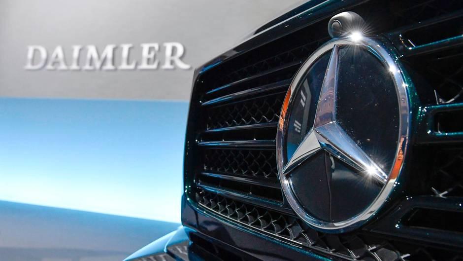 Daimler Stern von Mercedes-Benz