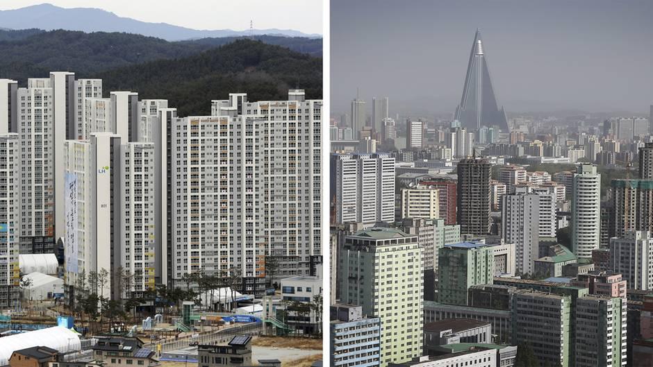 Olympische Spiele: Pyeongchang oder Pjöngjang - erkennen Sie den Unterschied?