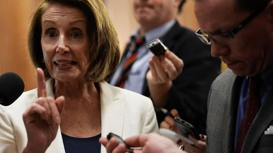 Kampf für junge Einwanderer: Acht Stunden! Nancy Pelosi hält Rekordrede im US-Senat